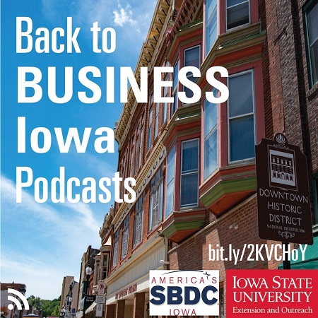 Back to Business Iowa podcast.