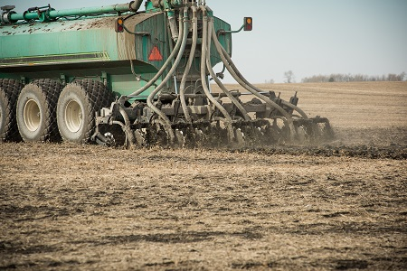 commercial manure application.