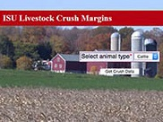 ISU Livestock Crush Margins