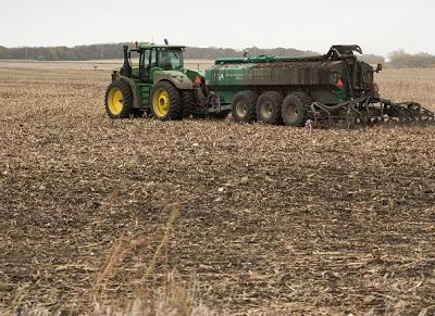 field manure application.