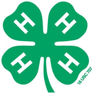 4-H clover.