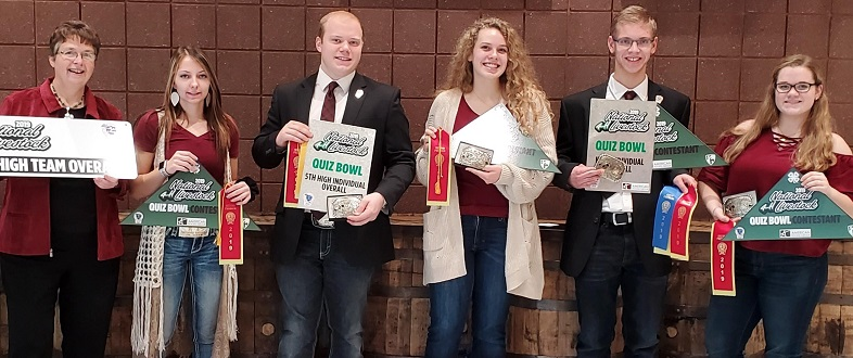 Franklin County 4 H Members Named Reserve National 4 H