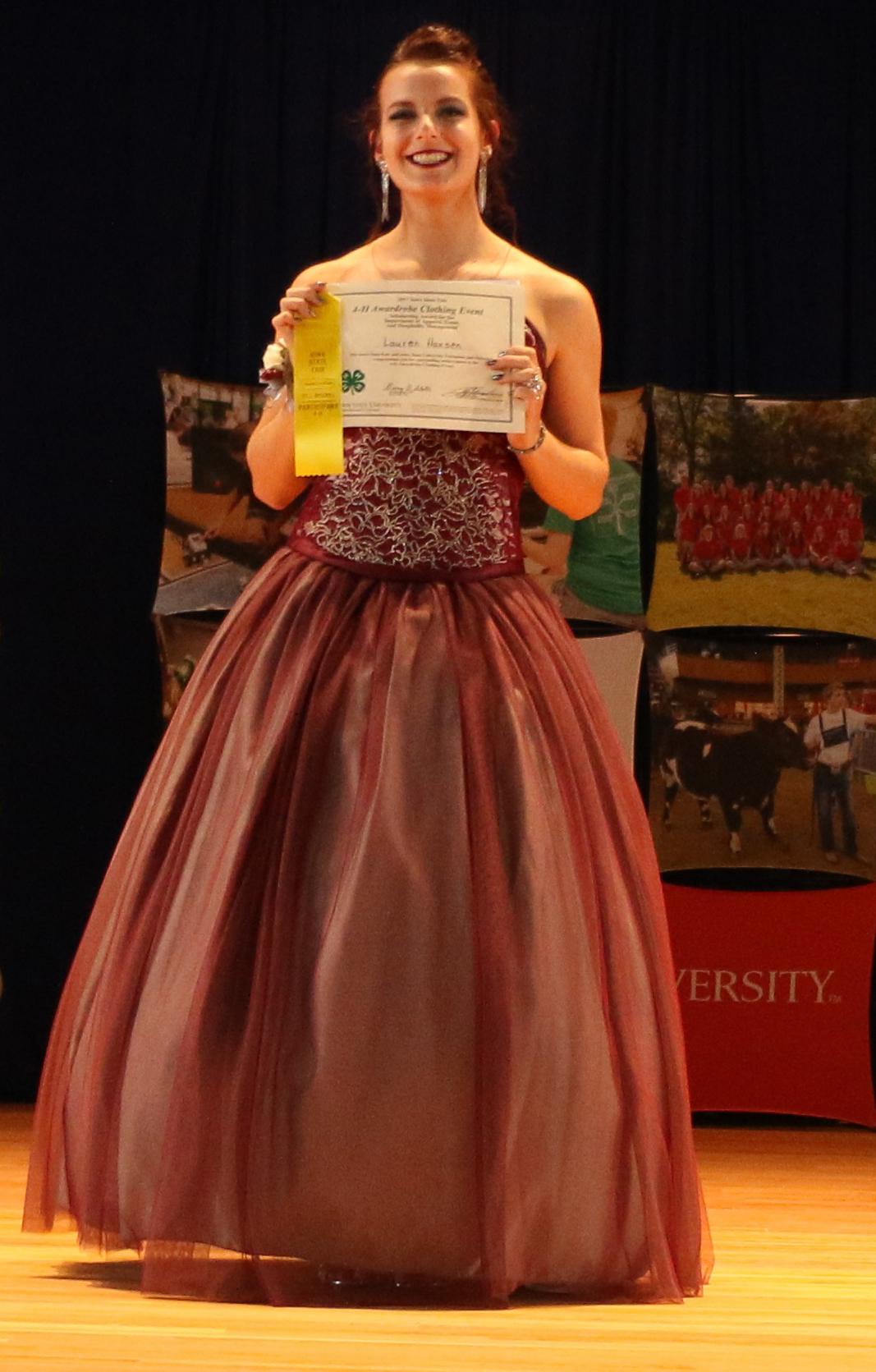 Iowa 4 H Awardrobe Clothing Event Award Winners Announced News