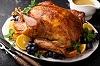 roasted turkey for Thanksgiving by fahrwasser/stock.adobe.com.