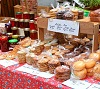 baked goods and preserves at farmers market by V. J. Matthew/stock.adobe.com.