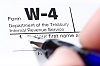 W-4 tax form by Aliaksandr Dobysh/stock.adobe.com.