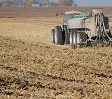 manure application on harvested field.