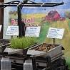 rainfall simulator on Iowa Learning Farm trailer.