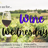 Wine Wednesday graphic.
