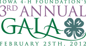 Iowa 4-H Foundation's 3rd Annual Gala