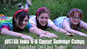 register for Iowa 4-H camp