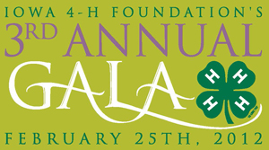 Iowa 4-H Foundation Gala