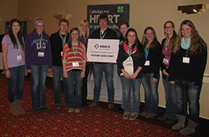 Lyon and O'Brien County 4-H'ers at national ag summit