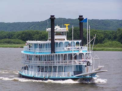 riverboat on the water