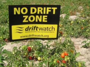 no drift zone