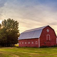 barn on an ag property