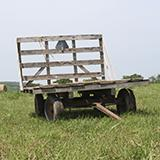 photo of a hay rack