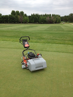 Eclips II 122 Electric Walking Greens Mower