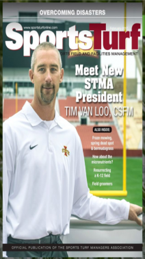Iowa State Athletic Field Manager and STMA President, Tim Van Loo