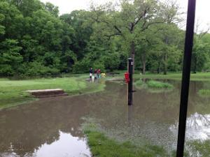 Veenker Golf Course Flooding