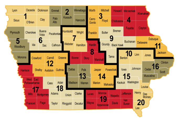 area-wide meeting map.