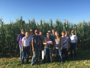 The goal of Agronomy in the Field is is to increase women's agronomic knowledge. Sessions are to continue this winter at the Was
