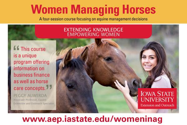 Women Managing Horses | Online Course | Begins Thursday, October 29, 2020