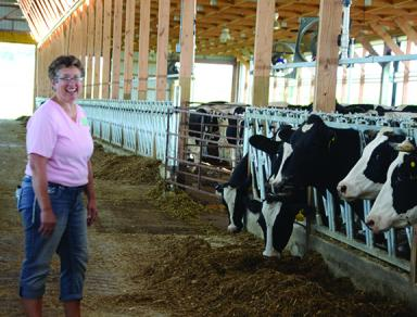 Gayleen Moellers, dairy farm, human resources
