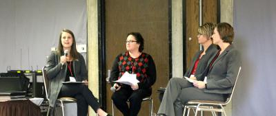 Women in Ag Leadership Conference - afternoon panel discussion about Human Resources