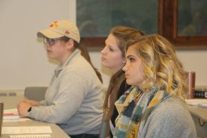 Students in Women in Agriculture and the Food System (SOC350X).