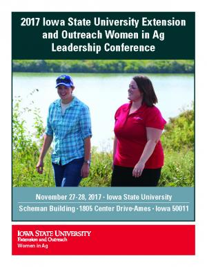 2017 Iowa State University Extension and Outreach Women in Ag Leadership Conference Program