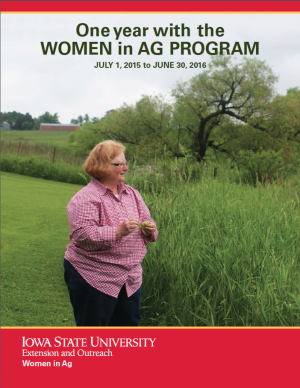 One year with the Women in Ag Program - July 1, 2015 to June 30, 2016
