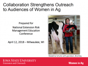 Collaboration Strengthens Outreach to Audiences of Women in Ag