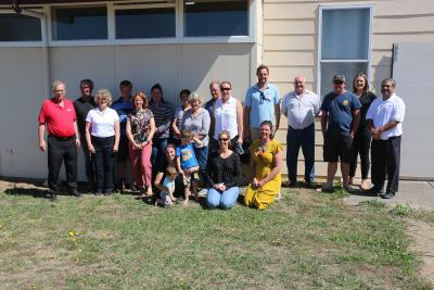 The participants, State of Victoria's Colac Area Health and Rural Financial Counseling services and ISU Extension staff.