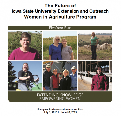 Five-year Women in Ag Business and Education Plan
