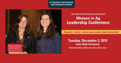 ISU 2019 Extension and Outreach Women in Ag Leadership Conference