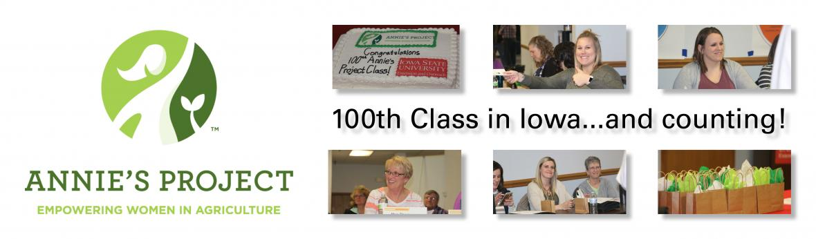 100th Annie's Project Class Held in Fort Dodge