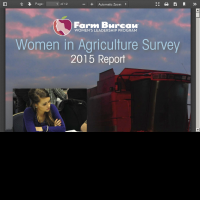 2015 Women in Agriculture Survey